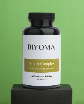 BIYOMA SMART COMPLEX Voedingssupplement voor hersenactiviteit en geheugen Smart Complex
