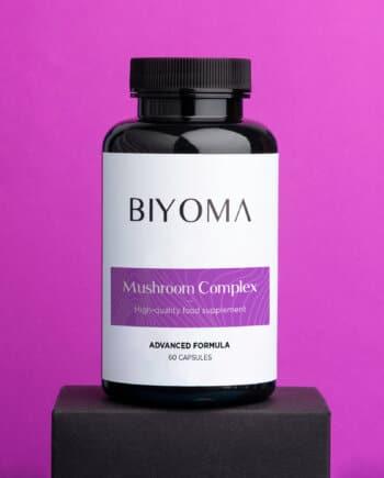 BIYOMA MUSHROOM COMPLEX voor natuurlijke afweer en energie